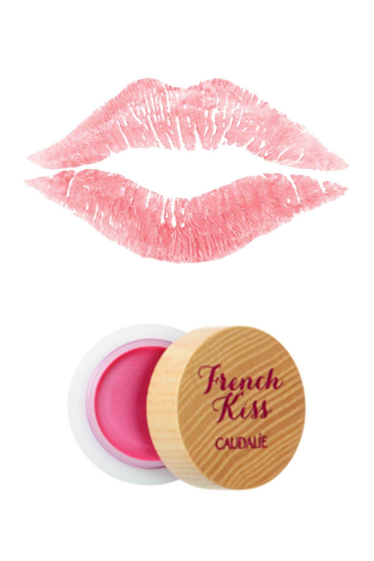 Image of CAUDALIE French Kiss Mini Lip Balm - Seduction