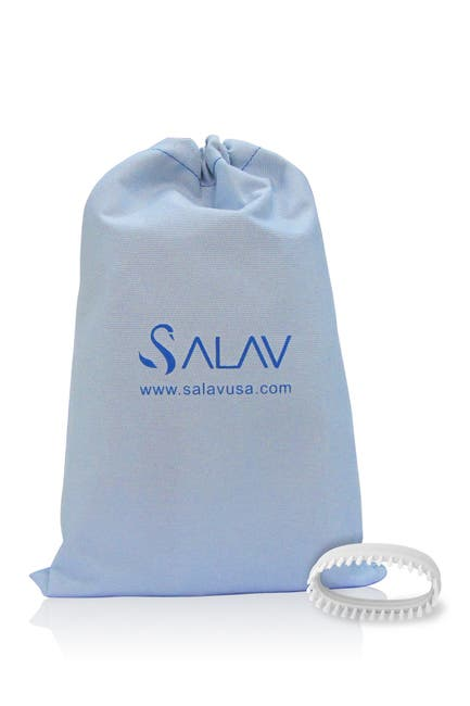 Image of Salav Steamers White TS01 Handheld Garment Steamers Travel Accessory Pack