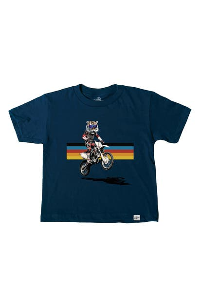 Kid Dangerous Tops MOTOCROSS TIGER GRAPHIC TEE