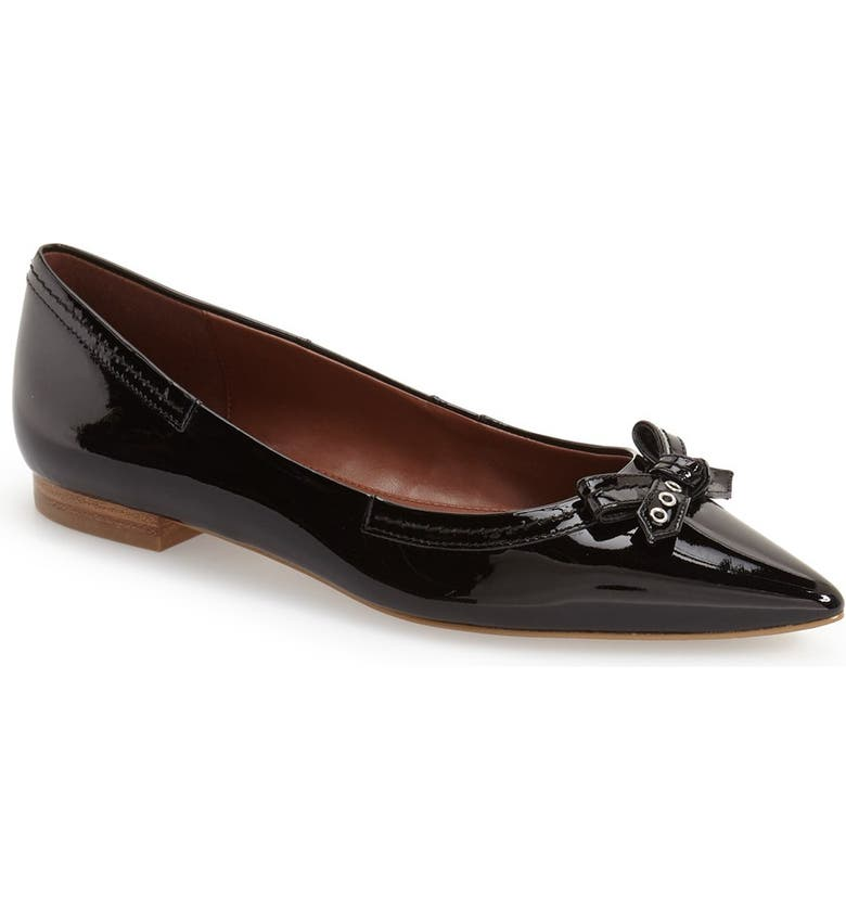 COLE HAAN 'Alice' Bow Skimmer Flat, Main, color, 001