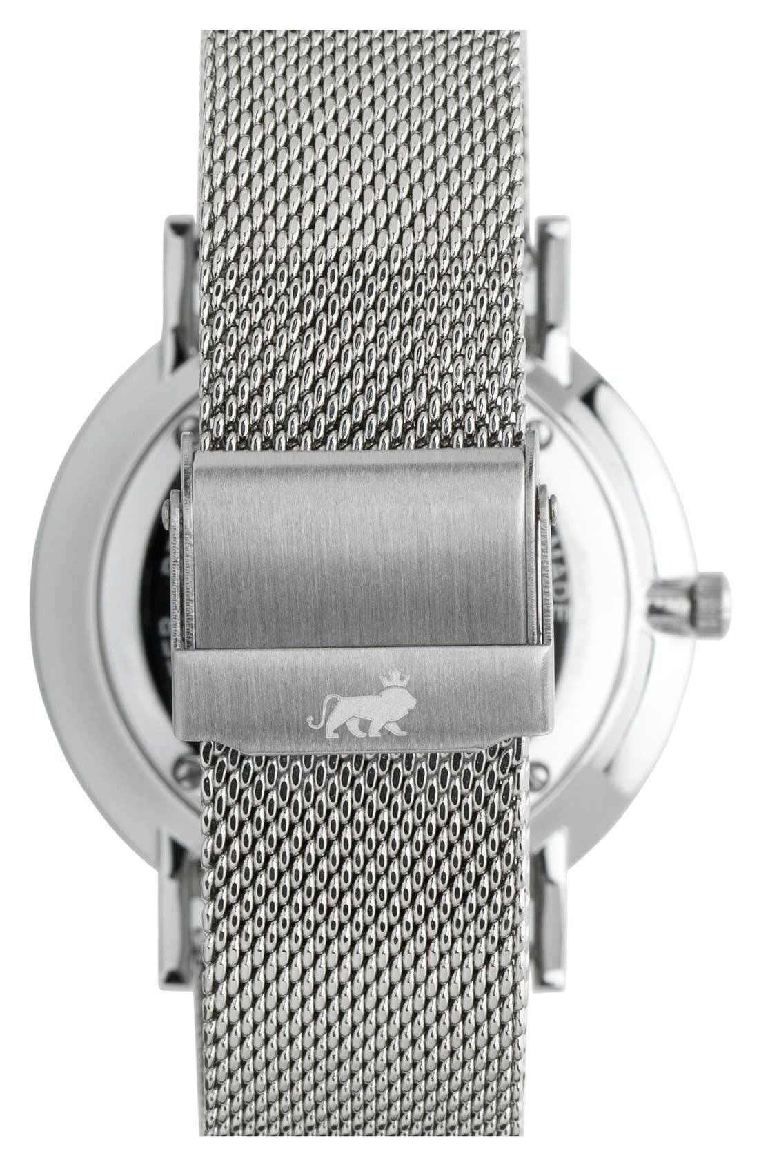 ,                             Lugano Mesh Strap Watch, 40mm,                             Alternate thumbnail 16, color,                             040