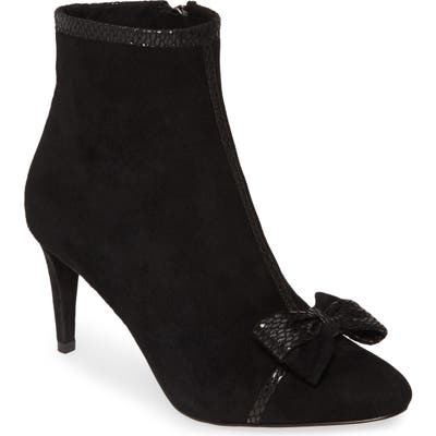 Karl Lagerfeld Paris Mona Bow Bootie, Black