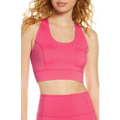 Free People Fp Movement Lightning Synergy Sports Bra, Pink