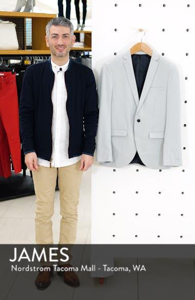 Skinny Fit Jersey Blazer, sales video thumbnail