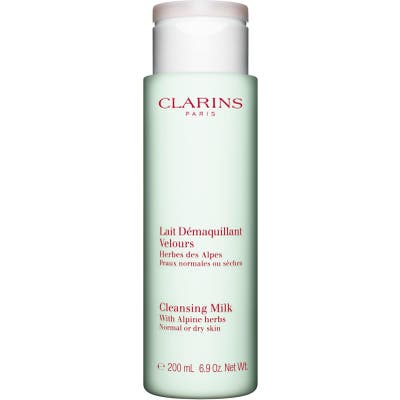 Clarins Cleansing Milk With Alpine Herbs For Normal/dry Skin, .9 oz