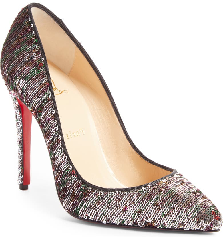 on sale 78f2e b18e3 Pigalle Follies Sequin Pointy Toe Pump