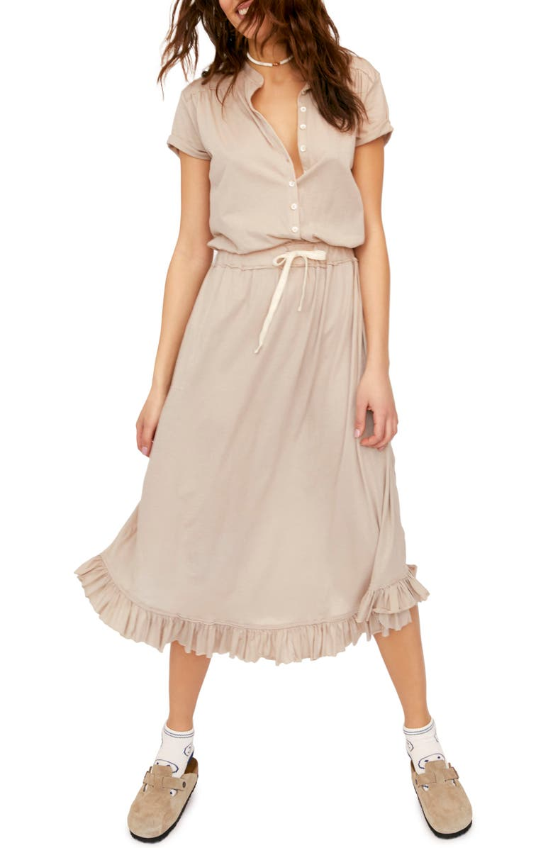 FREE PEOPLE Ludrow Midi Dress, Main, color, 252