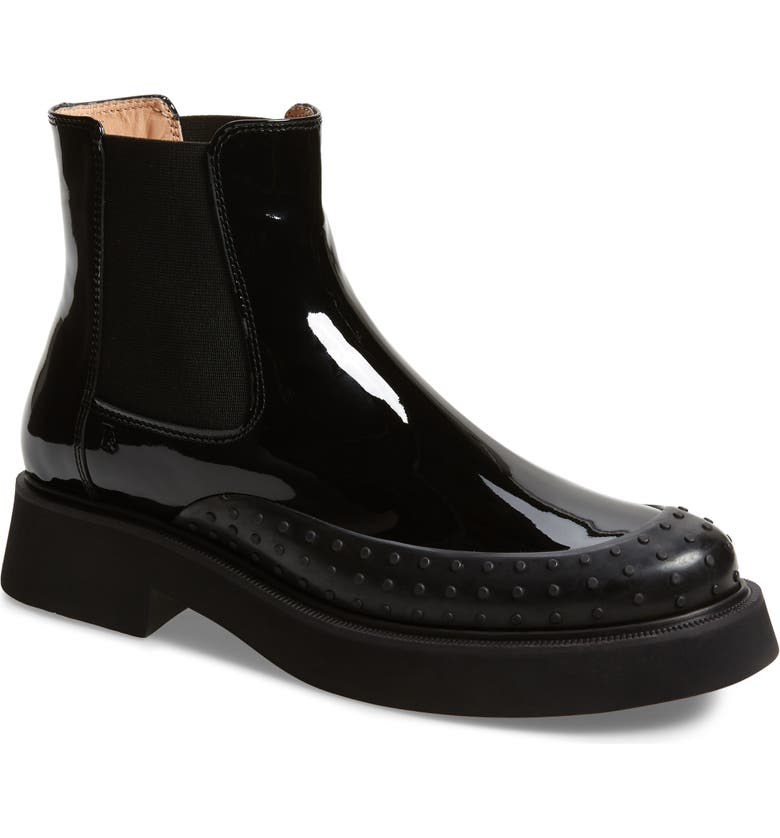 TOD'S Platform Chelsea Boot, Main, color, BLACK