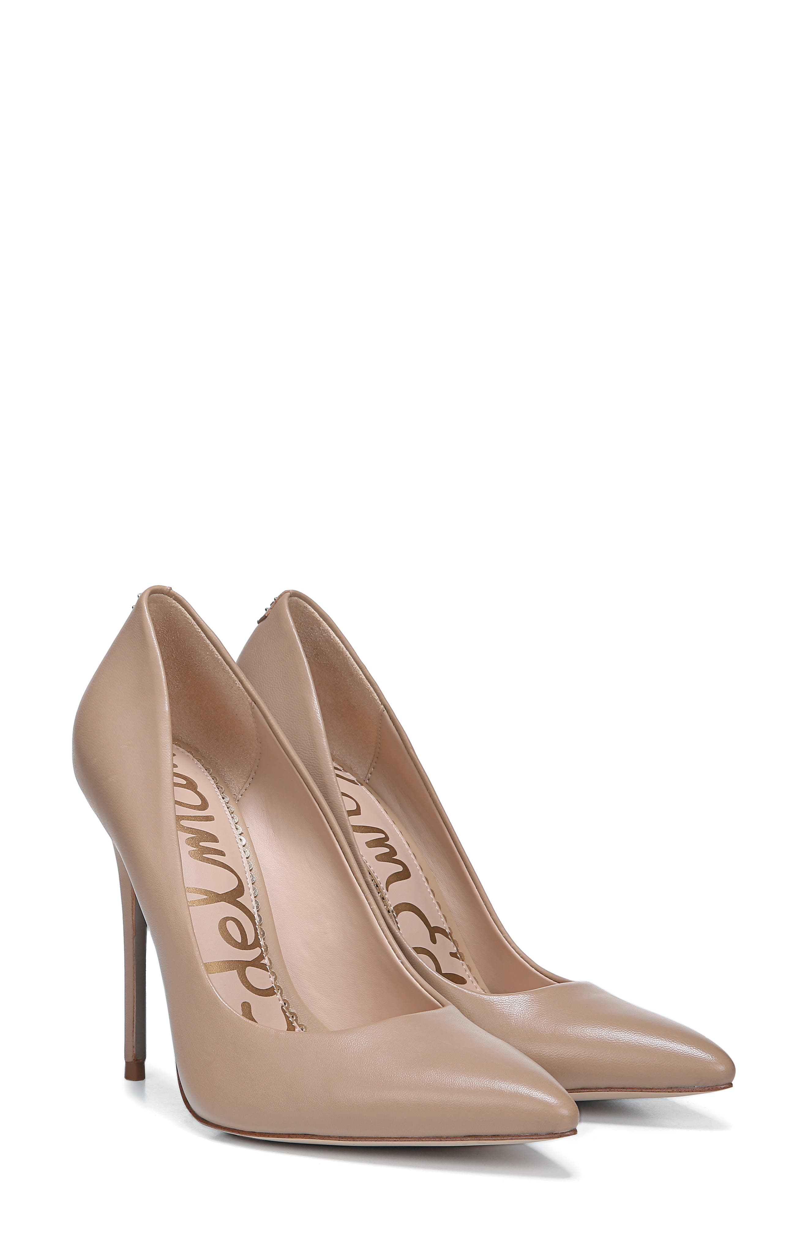 ,                             Danna Pointy Toe Pump,                             Alternate thumbnail 7, color,                             CLASSIC NUDE LEATHER