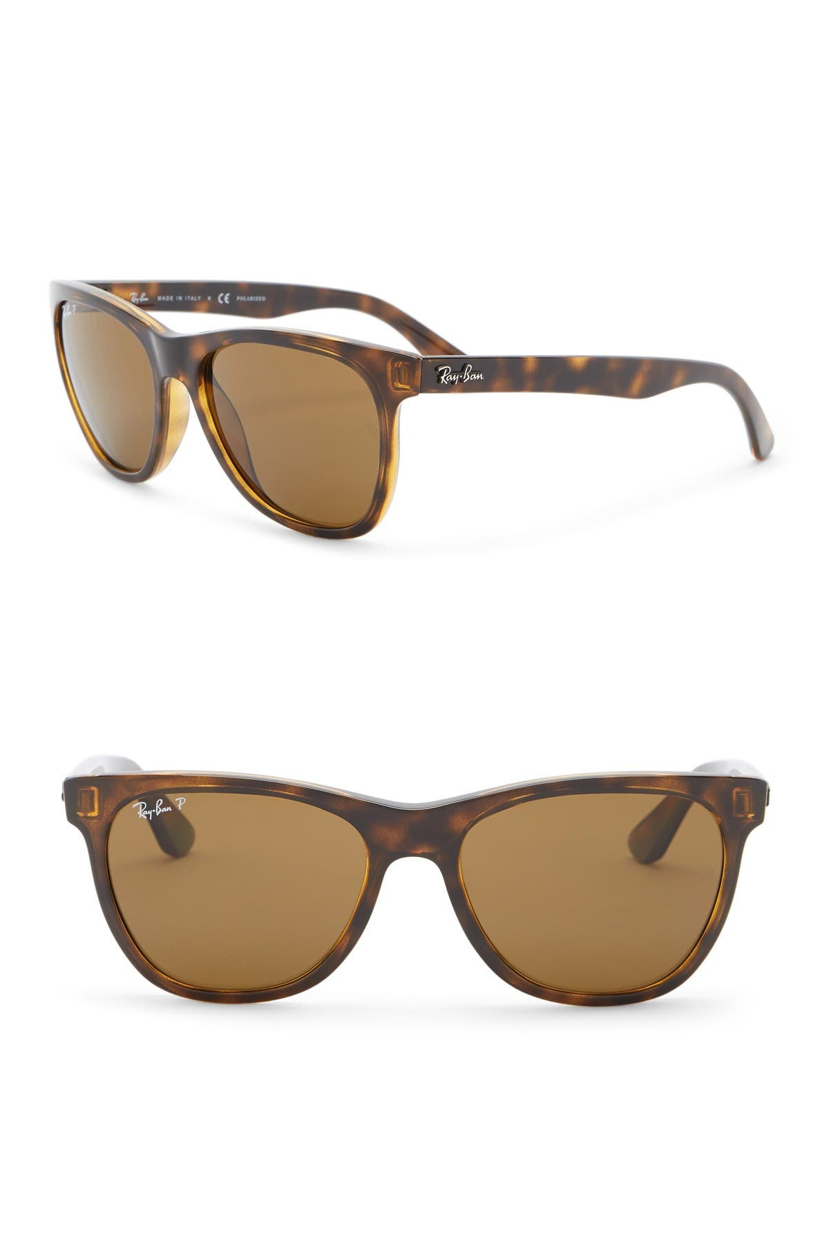 Image of Ray-Ban 54mm Polarized Wayfarer Sunglasses