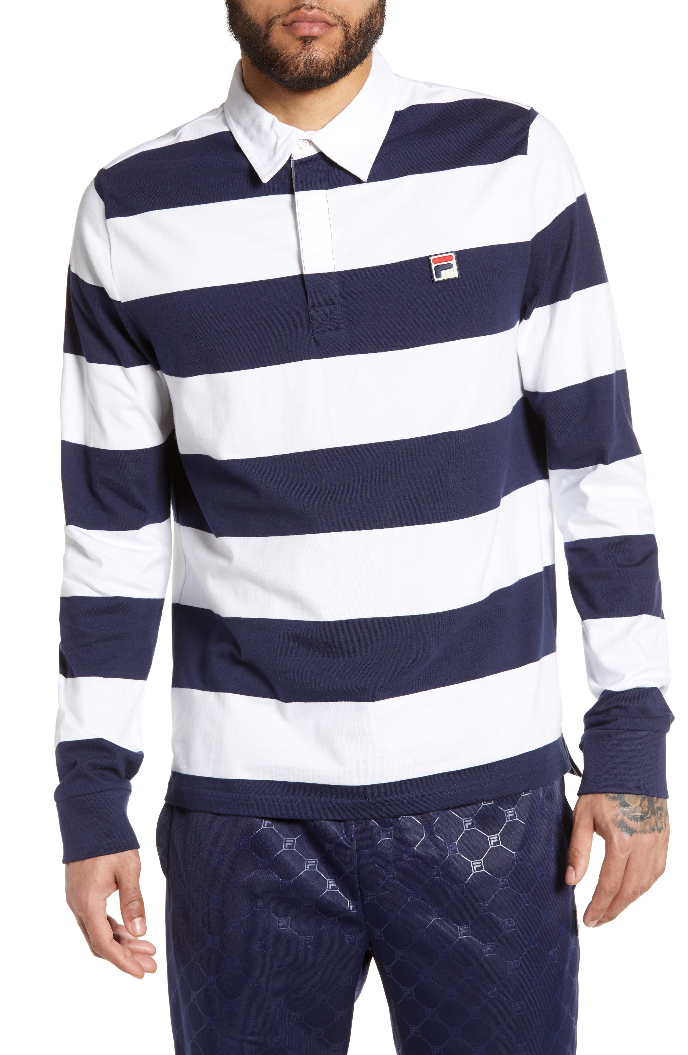 Fila Oscar Rugby Shirt, White