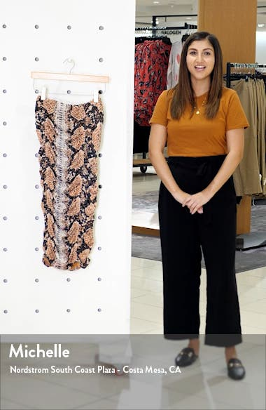 Venice Ruched Skirt, sales video thumbnail