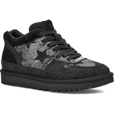 UGG Highland Sequin Sneaker- Black