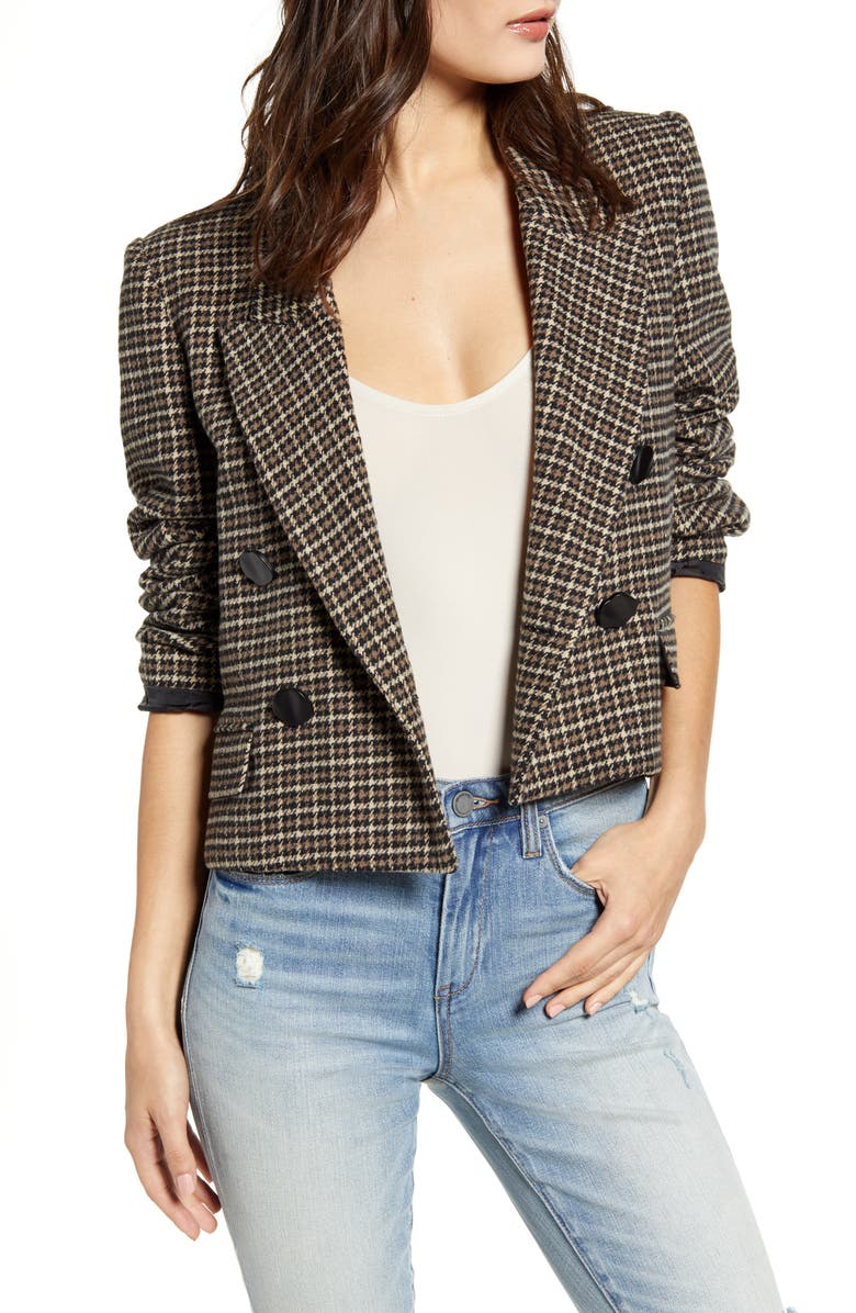 ASTR THE LABEL Manhattan Crop Blazer, Main, color, 200