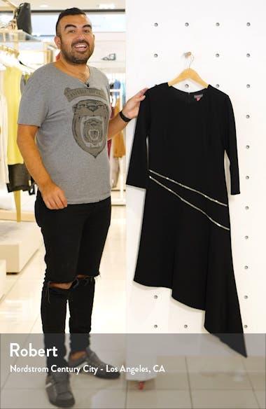 Asymmetrical Ponte Dress, sales video thumbnail