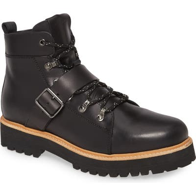 Allsaints Rich Plain Toe Boot, Black