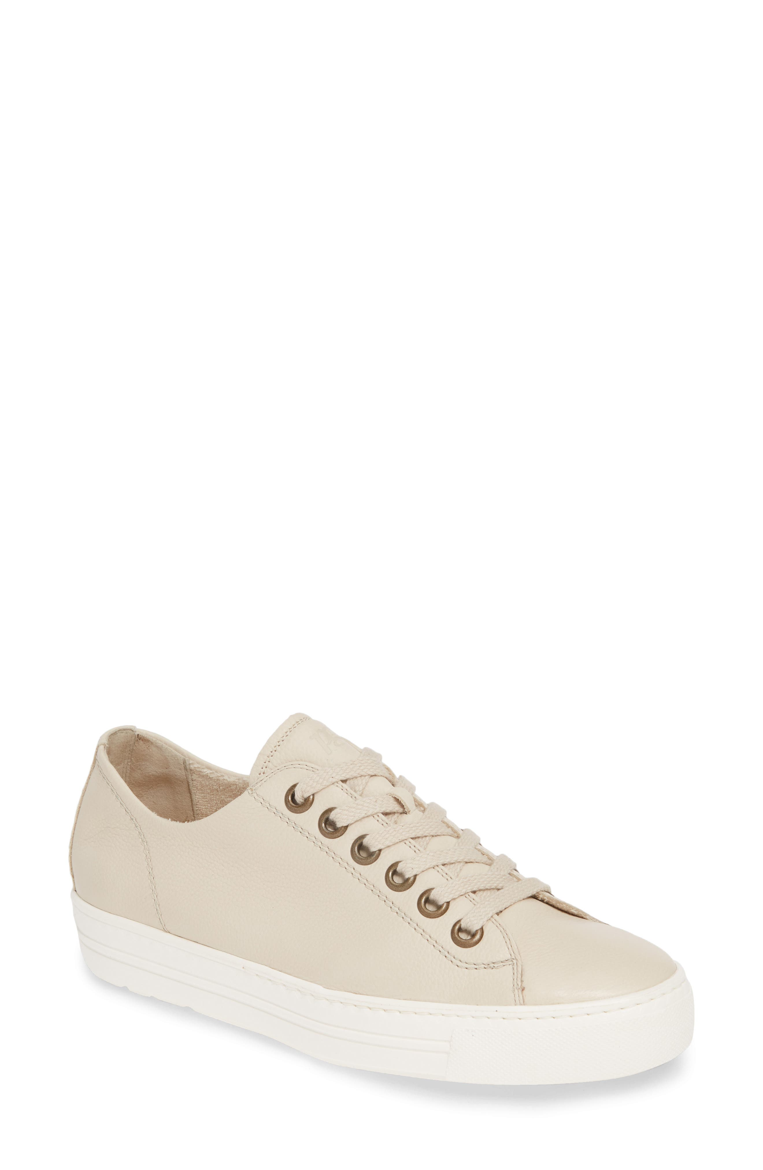Image of Paul Green Ally Leather Low Top Sneaker