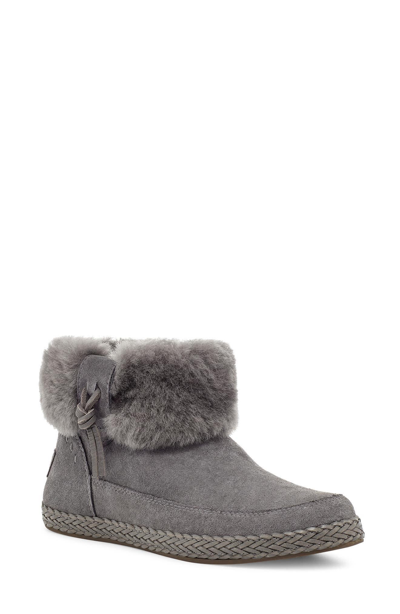 Image of UGG Elowen Genuine Shearling Bootie