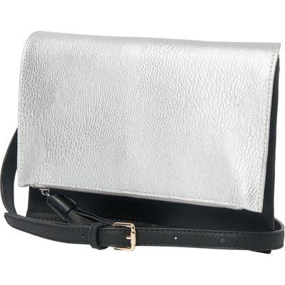 Urban Originals Sheer Luxe Vegan Leather Envelope Clutch - Metallic