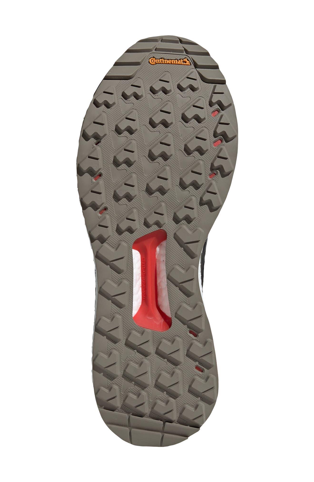 ,                             Outdoor Terrex Free Hiker CR Hiking Shoe,                             Alternate thumbnail 5, color,                             BLACK/ GREY SIX/ NIGHT CARGO