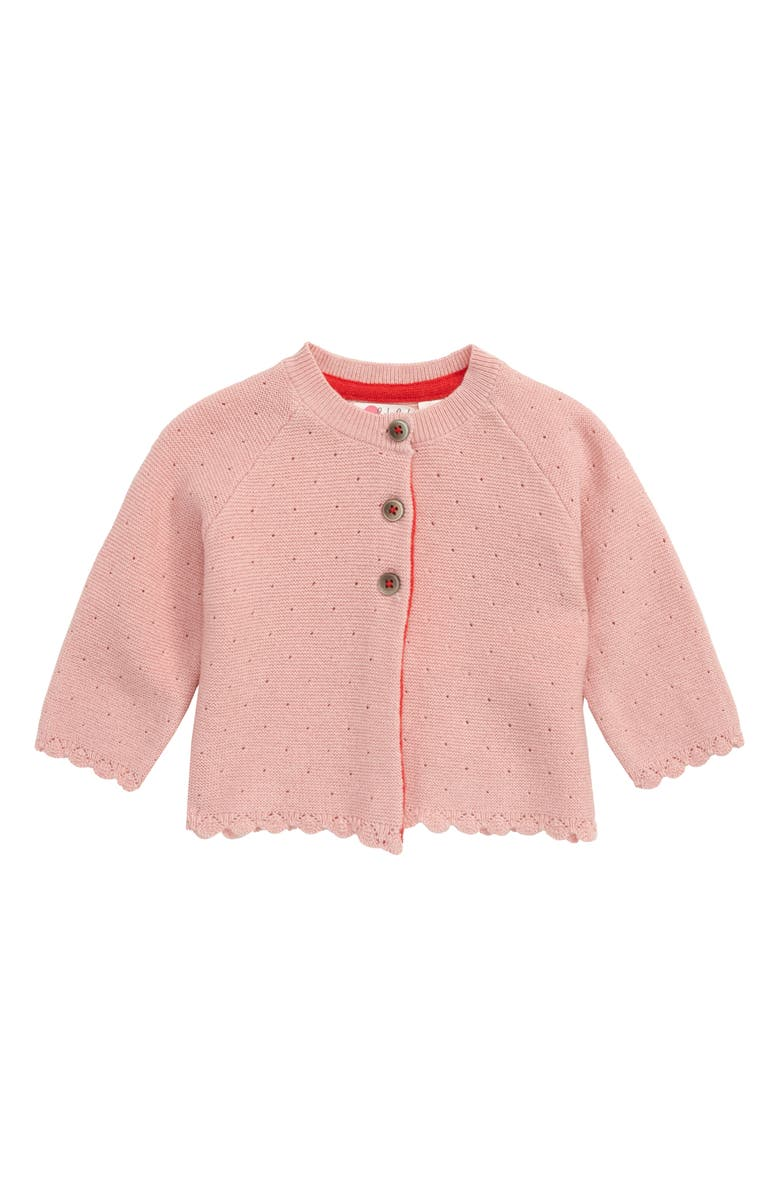 MINI BODEN Cosy Cardigan, Main, color, BOTO PINK