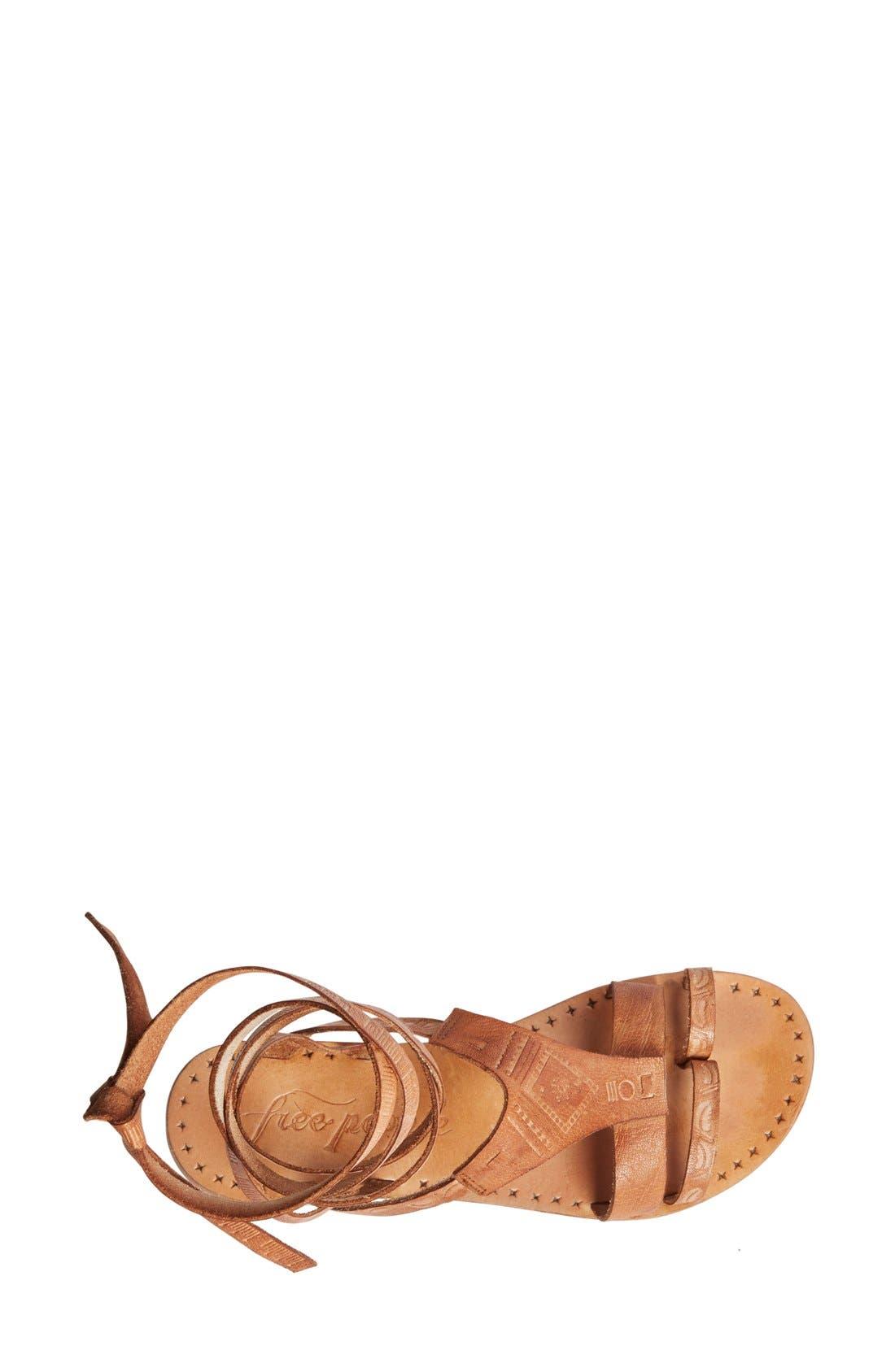 ,                             'Oliviera' Gladiator Sandal,                             Alternate thumbnail 8, color,                             200