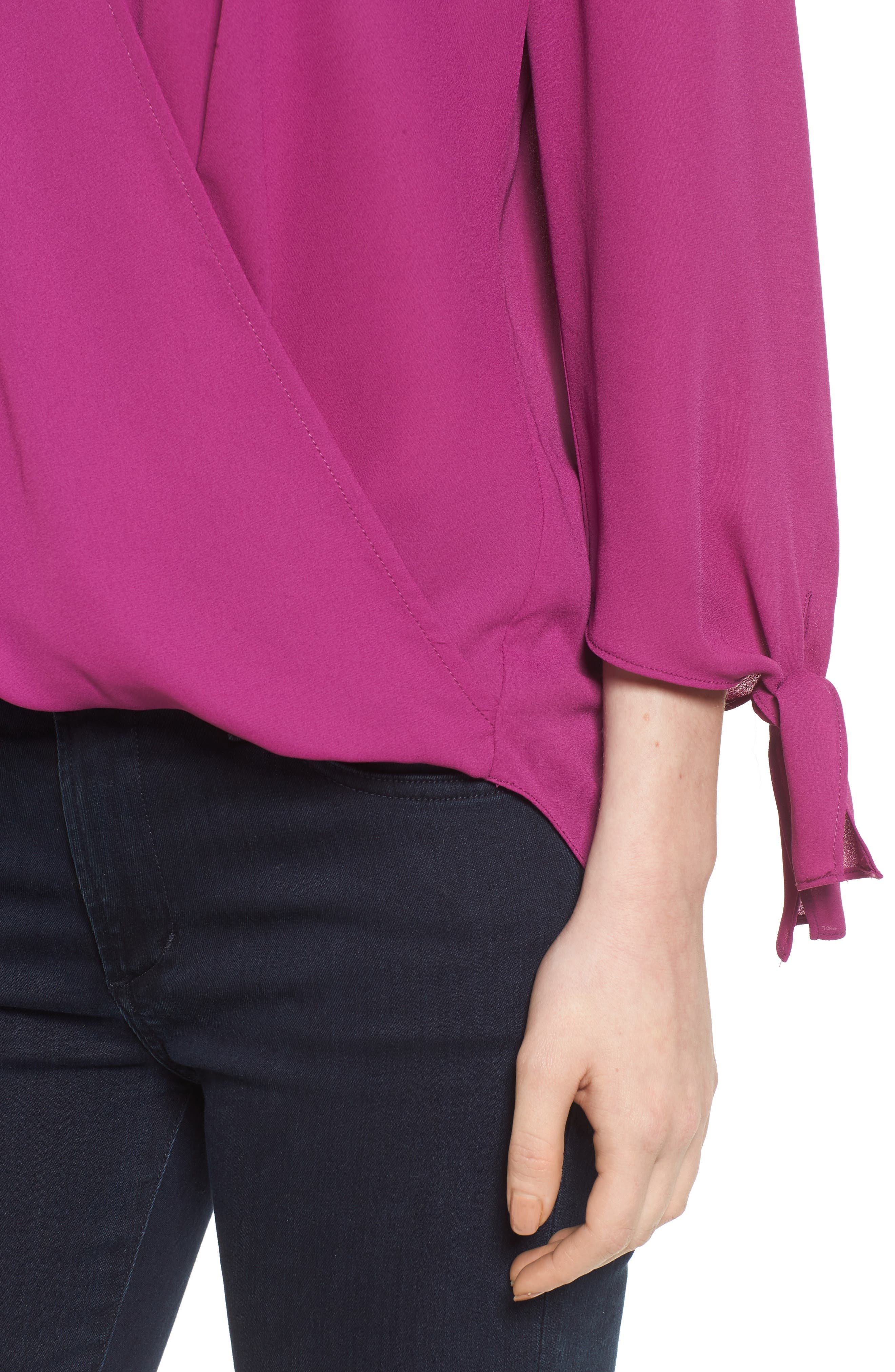,                             Surplice Neck Top,                             Alternate thumbnail 28, color,                             503