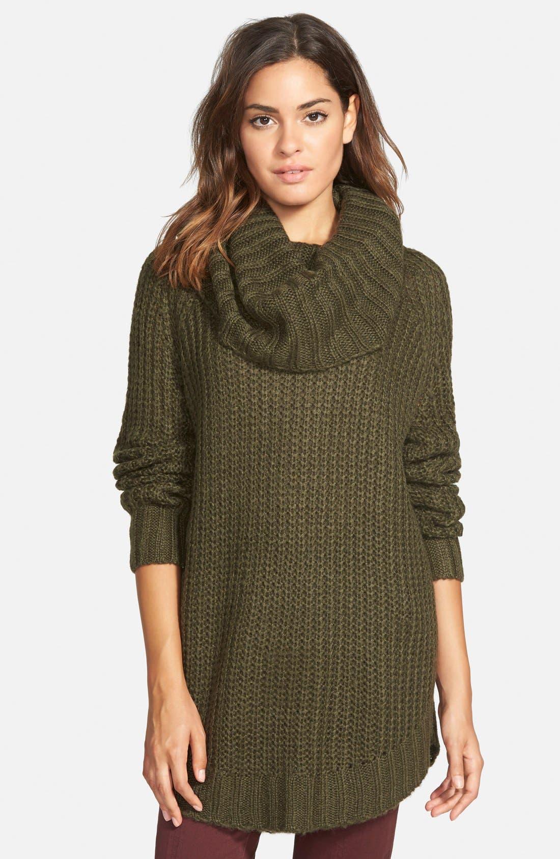 ,                             Cowl Neck Sweater,                             Main thumbnail 24, color,                             300