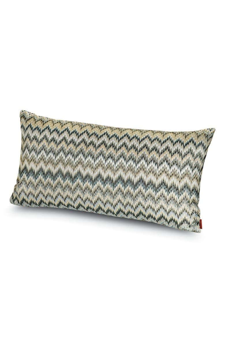 MISSONIHOME Plaisir Metallic Accent Pillow, Main, color, MULTI GREY