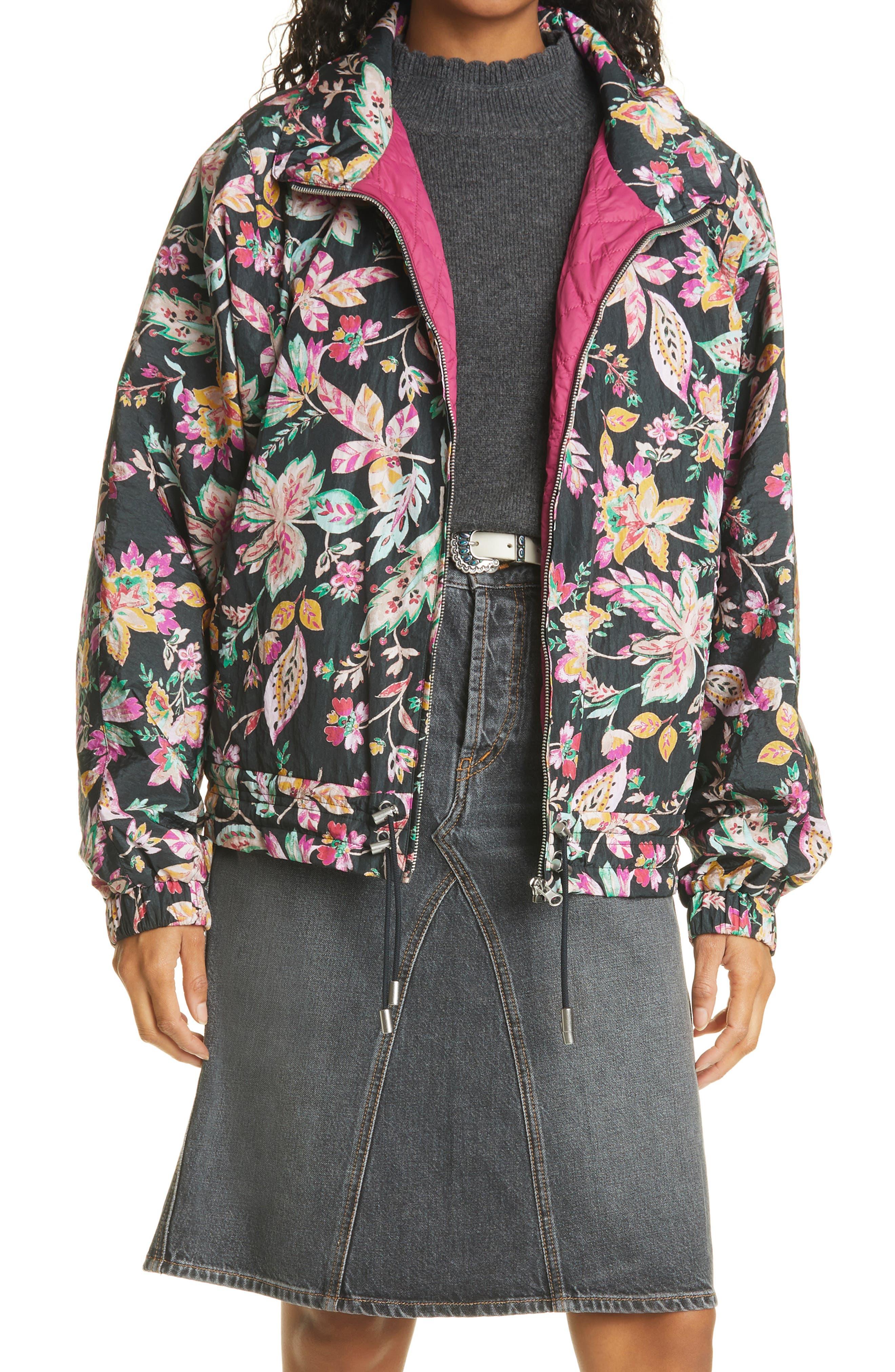 Women's Isabel Marant Etoile Delores Floral Jacket