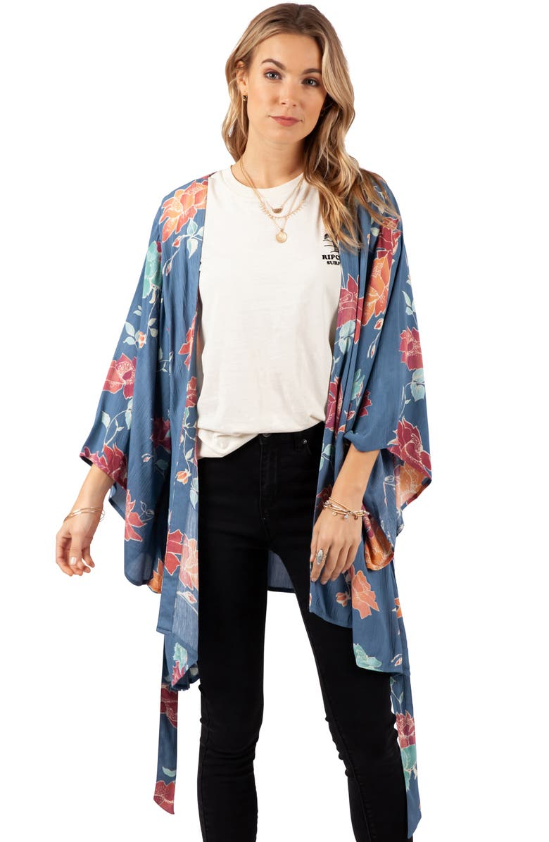 RIP CURL Moon Bay Duster, Main, color, SLATE BLUE