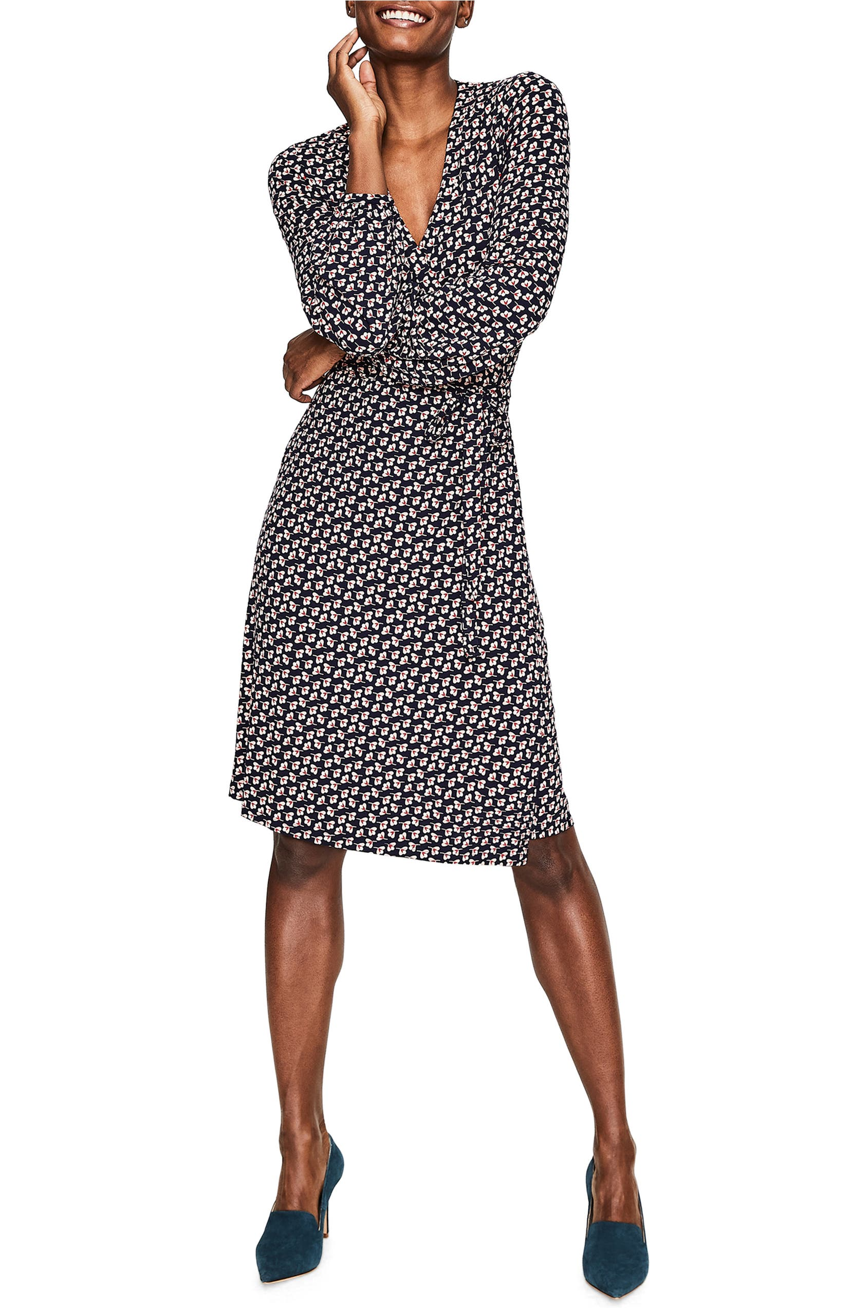 02860f296ab6 Boden Elodie Stretch Jersey Wrap Dress | Nordstrom