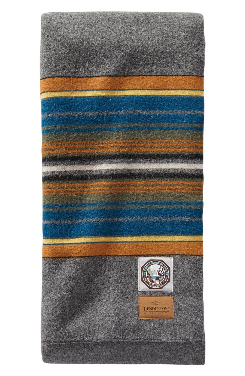 PENDLETON National Park Throw Blanket, Main, color, OLYMPIC