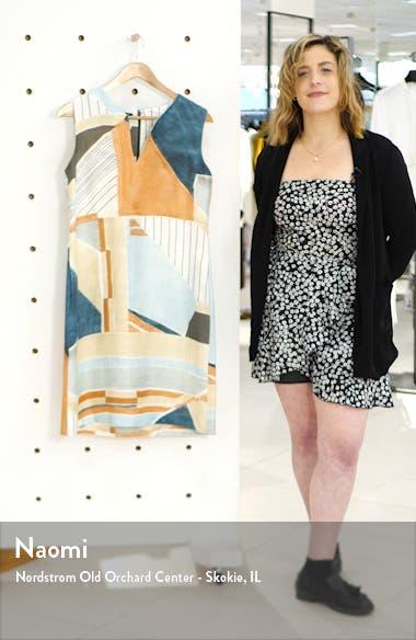 Taren Linen Shift Dress, sales video thumbnail