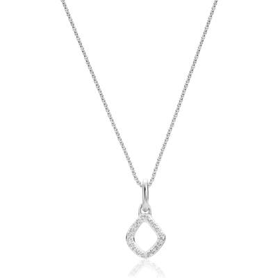 Riva Mini Kite Diamond Pave Pendant Charm