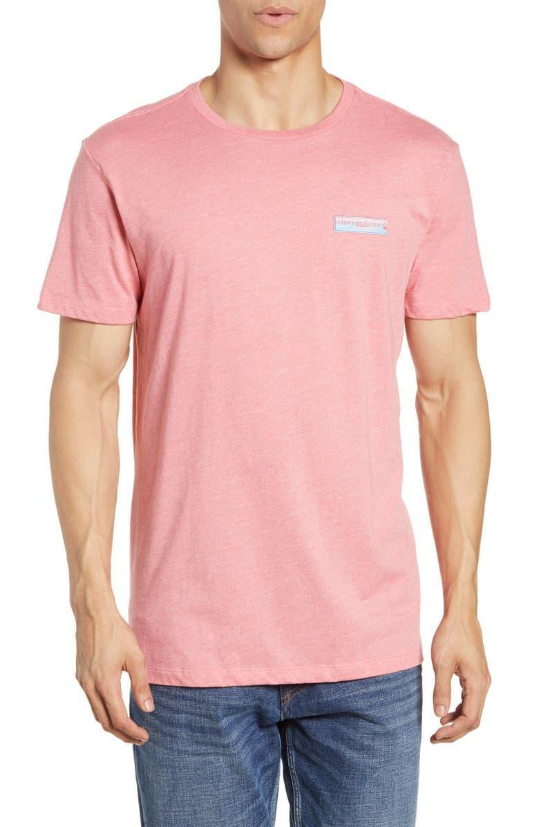 VINEYARD VINES Geo Wave Box Island T-Shirt, Main, color, 600