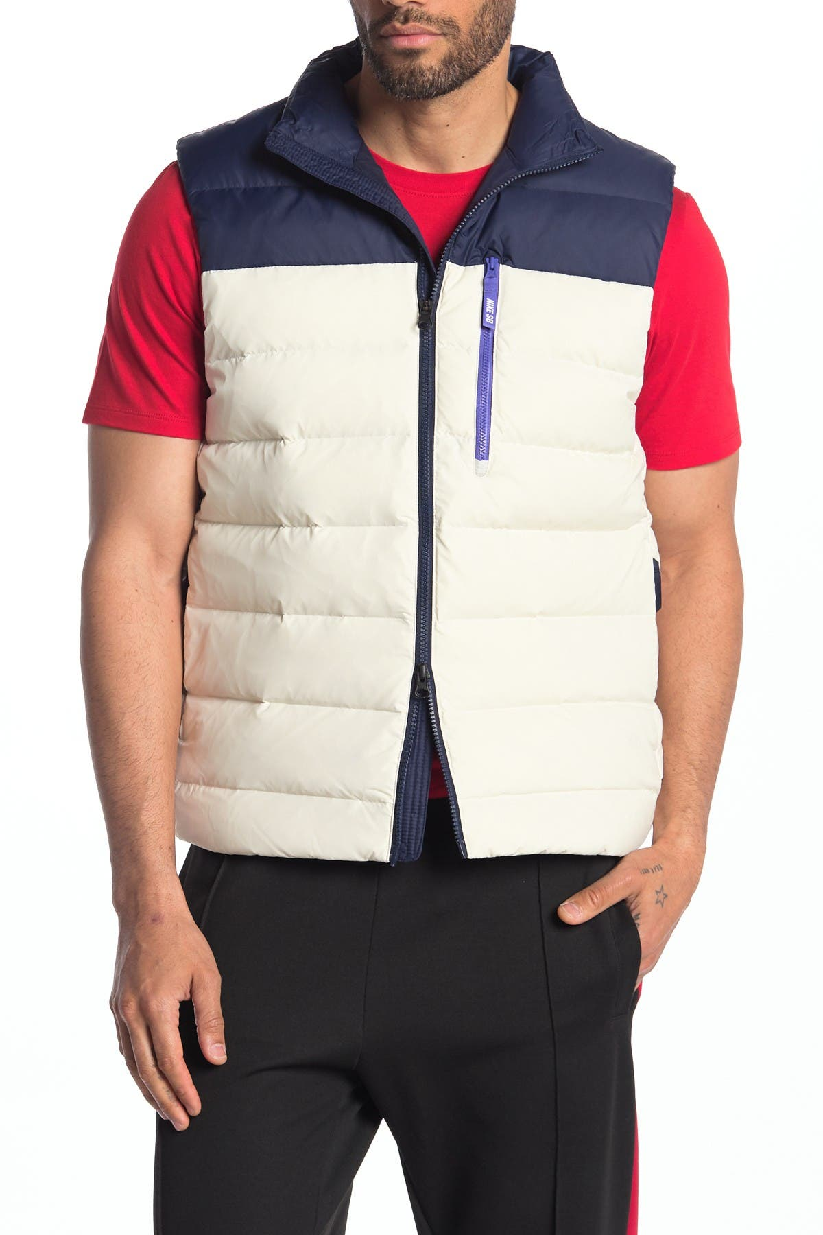 Image of Nike SB Quilted Down Vest