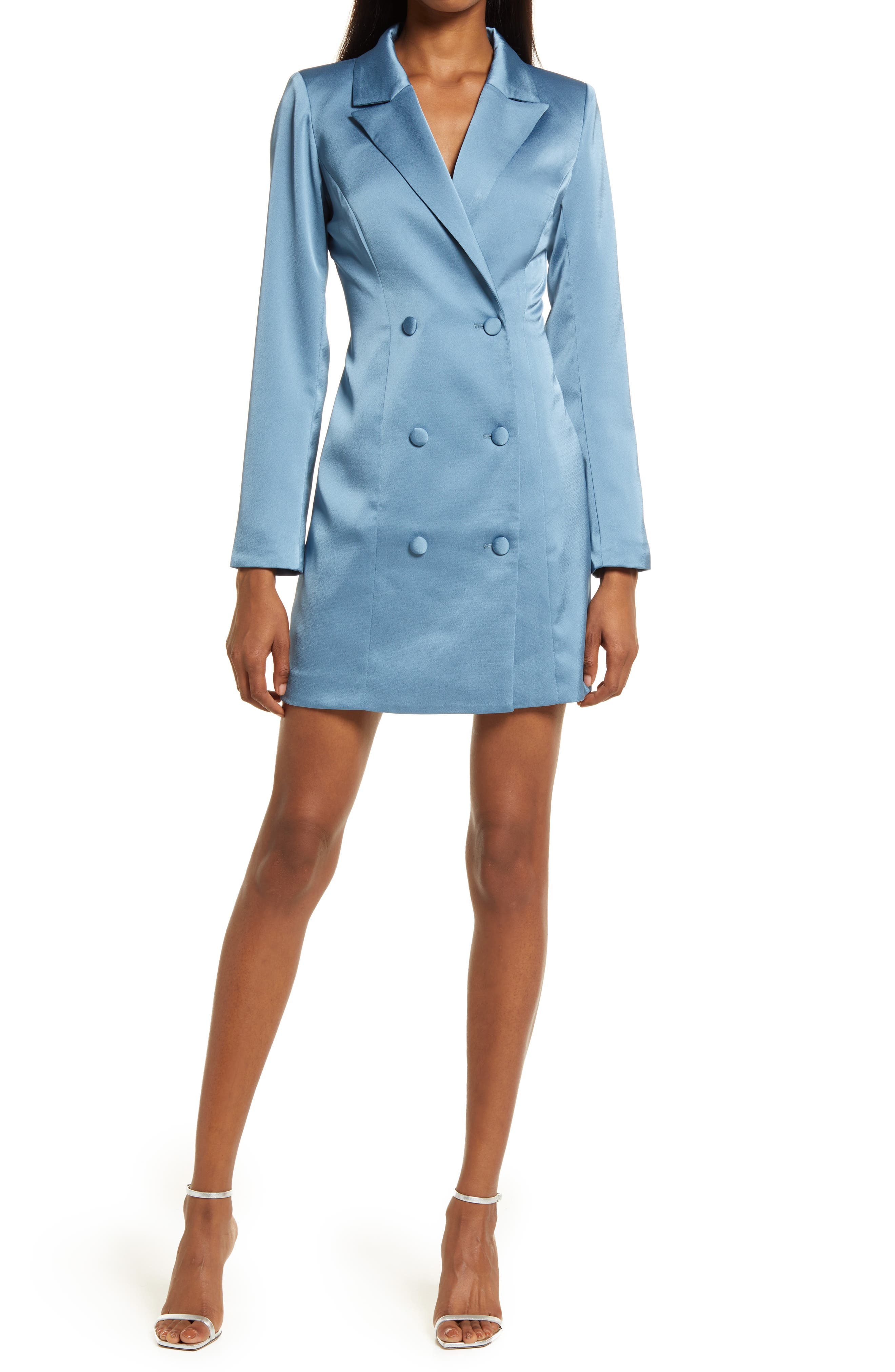 Stella Long Sleeve Blazer Dress