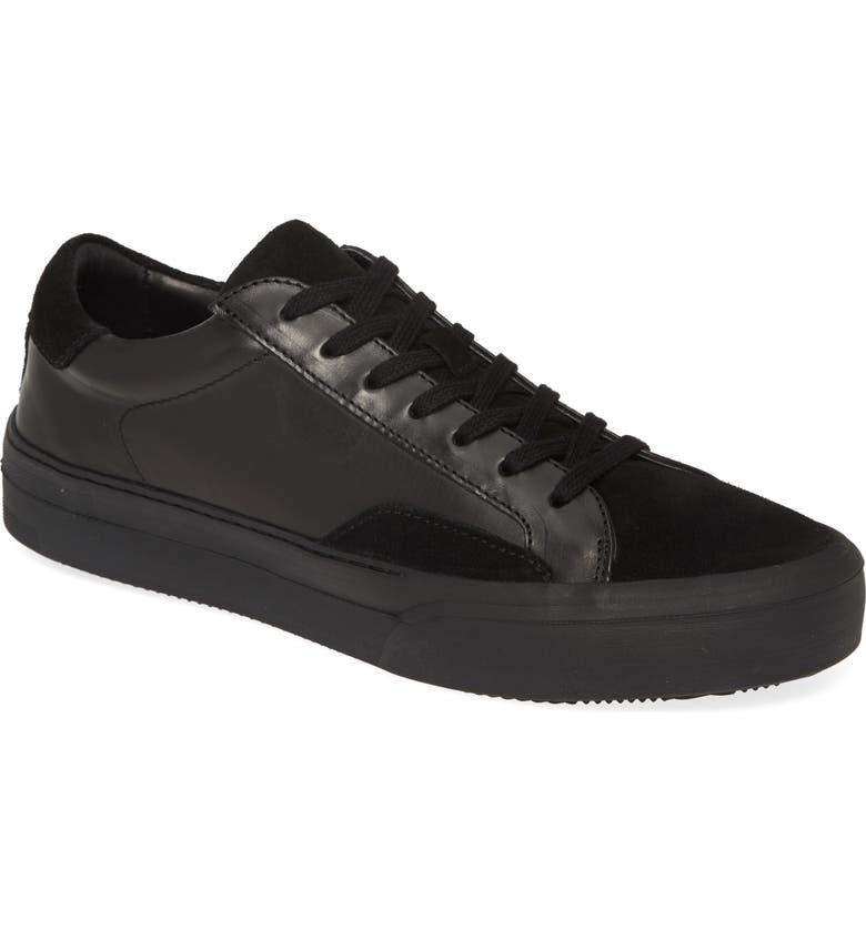 JOHN VARVATOS Star USA Mac Skate Sneaker, Main, color, BLACK