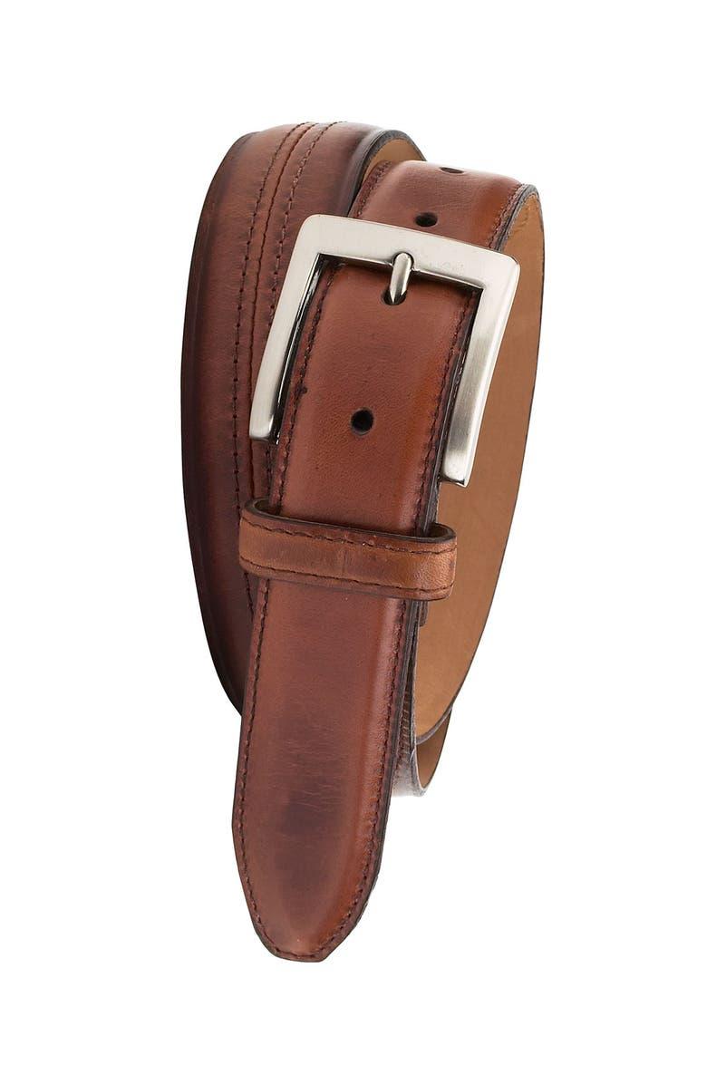 COLE HAAN 'Murdock' Leather Belt, Main, color, 200