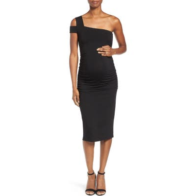 Isabella Oliver Brunswick Maternity Dress, Black