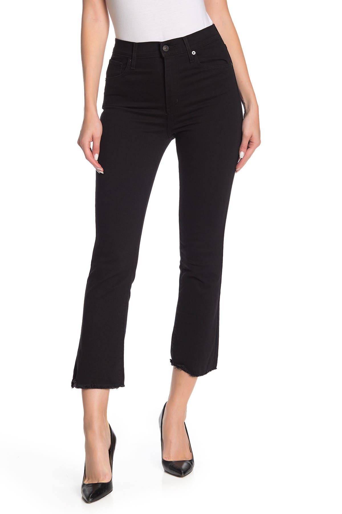 Image of Levi's Mile High Crop Flare Jeans