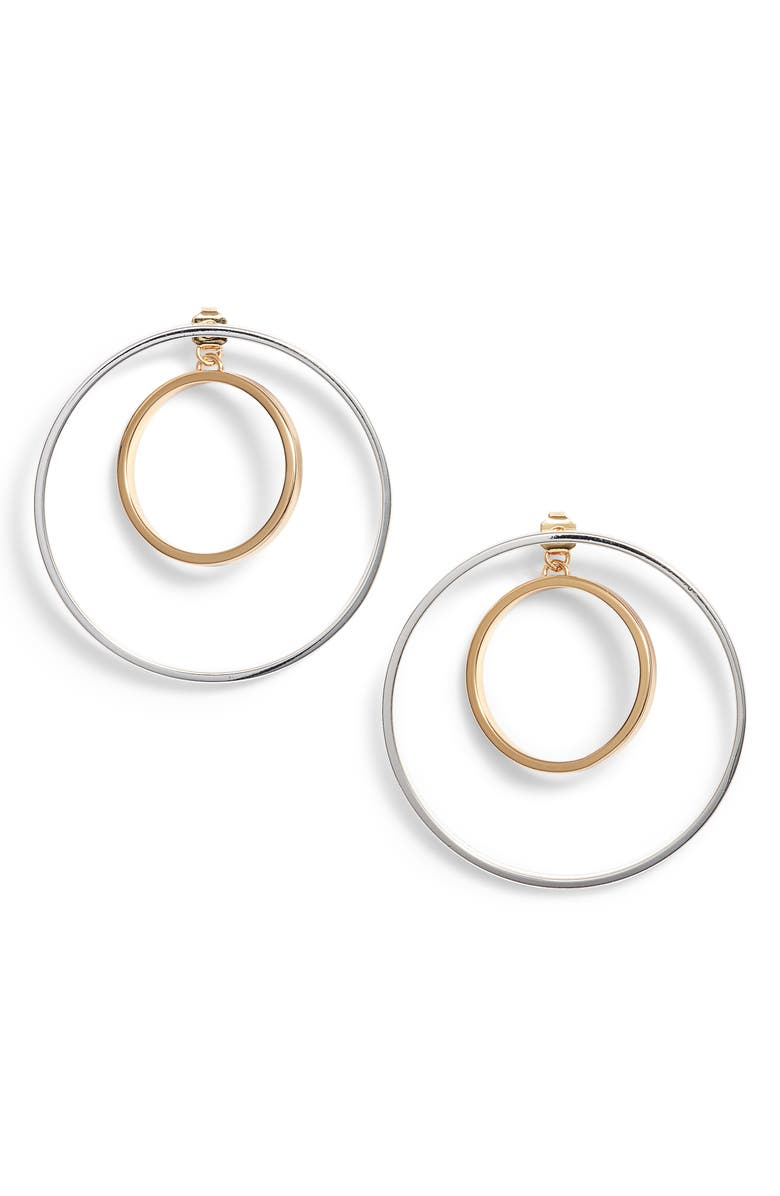 JENNY BIRD Rise Hoop Earrings, Main, color, 041
