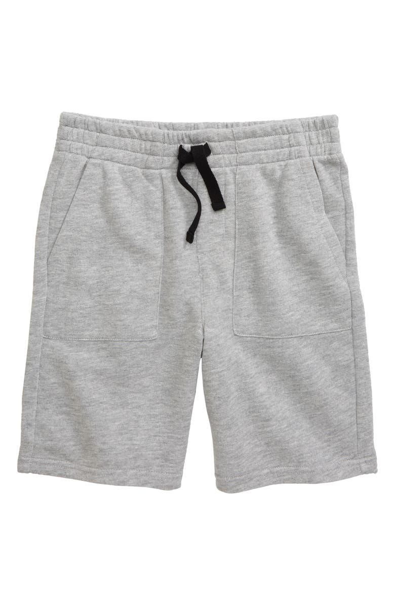 TUCKER + TATE Base Tan Knit Shorts, Main, color, GREY ASH HEATHER