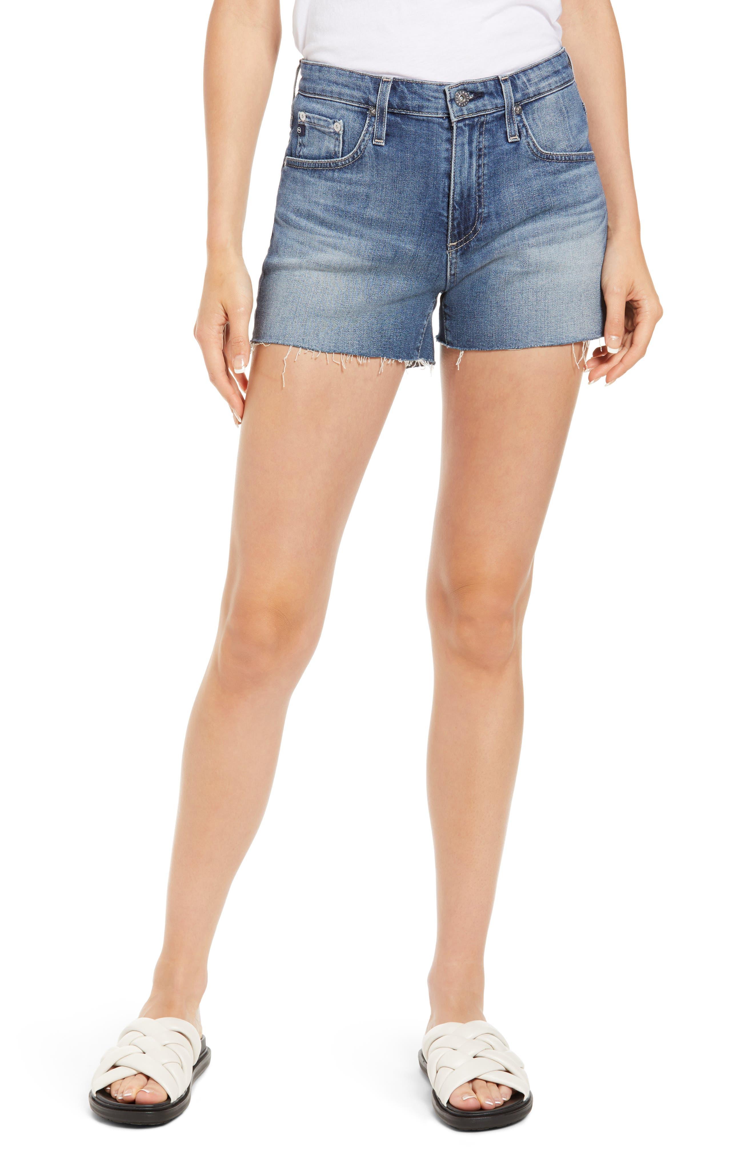 Hailey Cutoff Denim Shorts