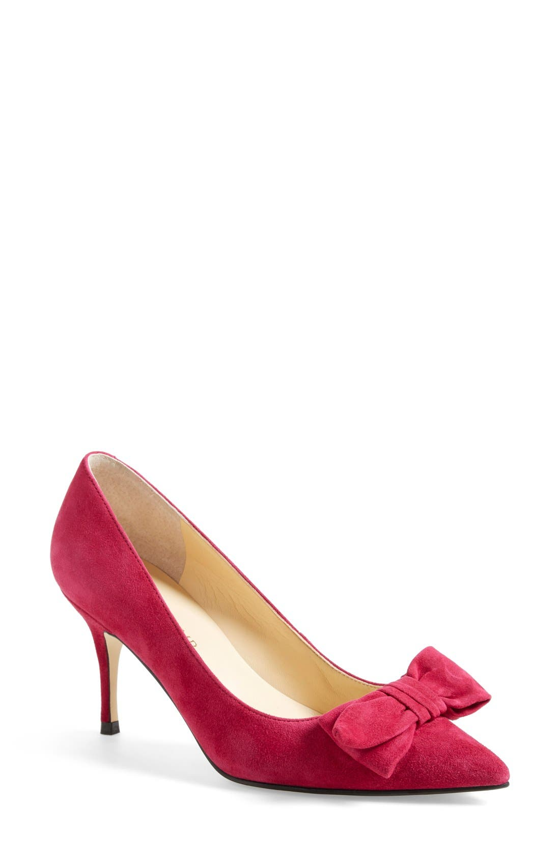 ,                             'Benny' Pointy Toe Bow Pump,                             Main thumbnail 12, color,                             661
