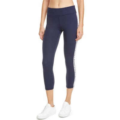 Tory Sport Banner 7/8 Leggings, Blue