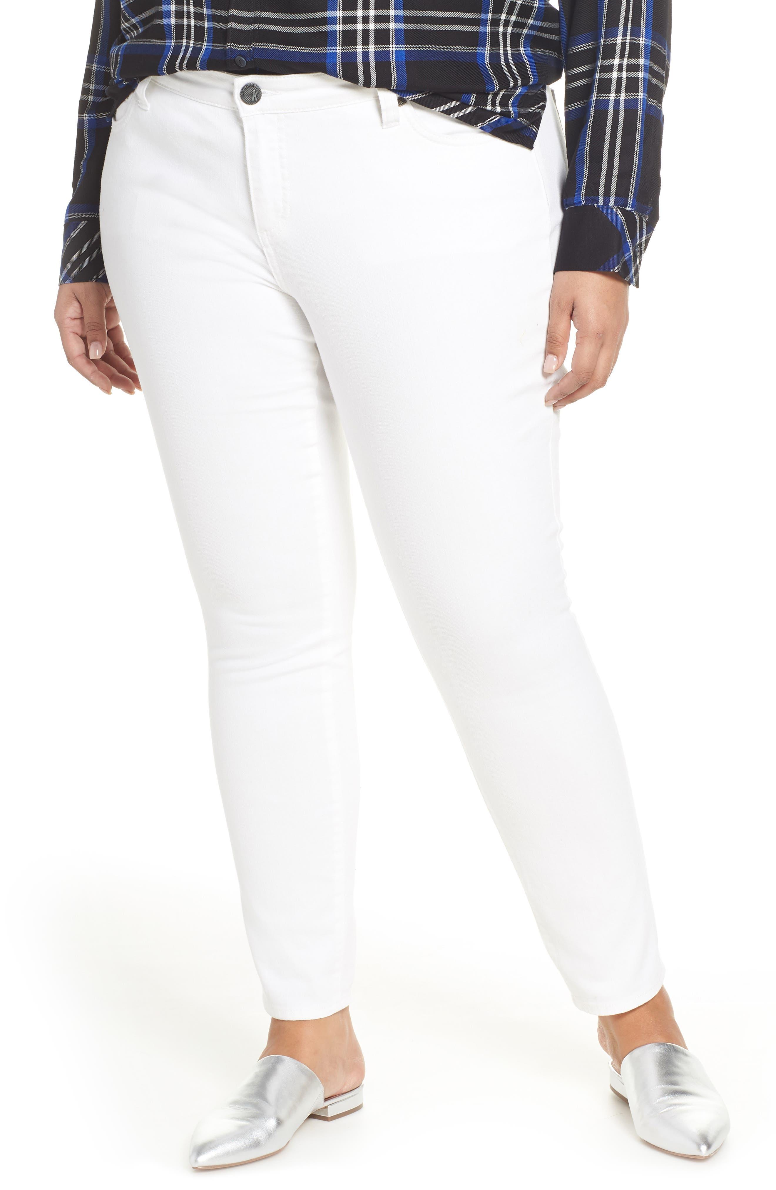KUT From The Kloth Catherine Boyfriend Jeans (Plus Size)