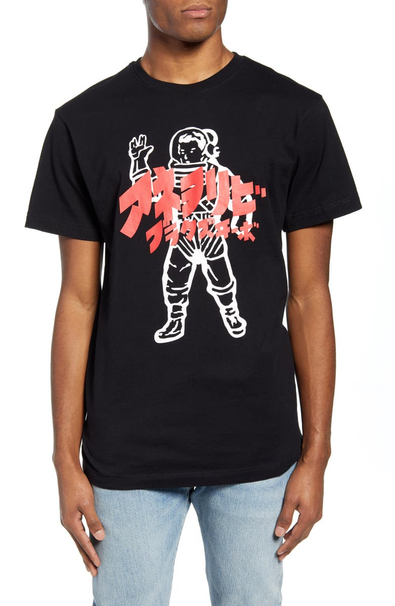 BILLIONAIRE BOYS CLUB Japan Astro Graphic T-Shirt, Main, color, 001