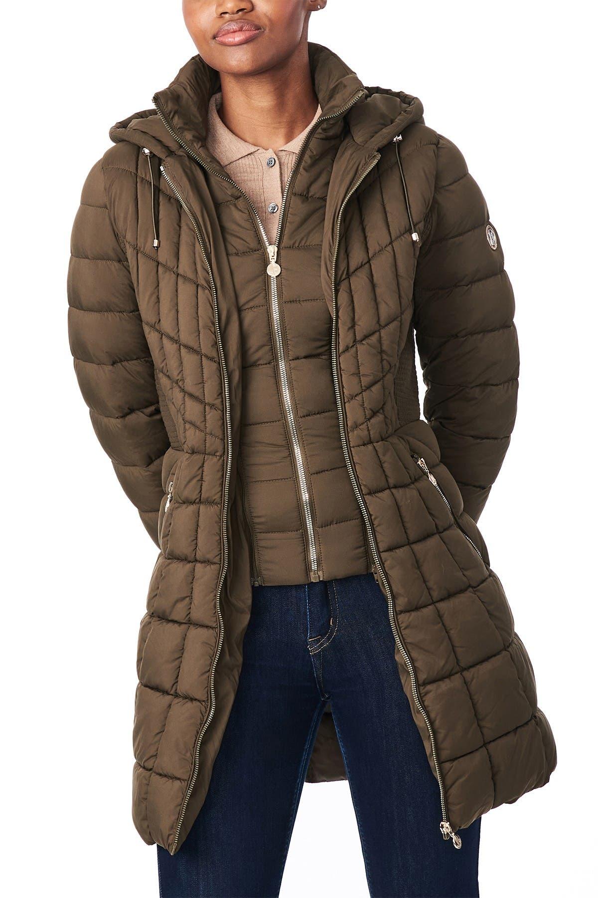 Image of Bernardo Ecoplume Lightweight Puffer Coat